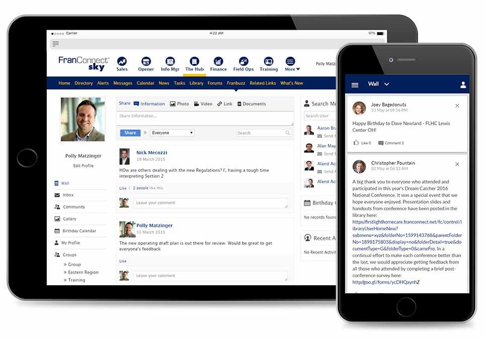 Create an Open Communications Channel