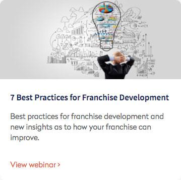 Webinar: 7 Best Practices for Franchise Development